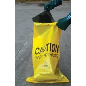 Polyethyleen afvalzakken voor gevaarlijk afval