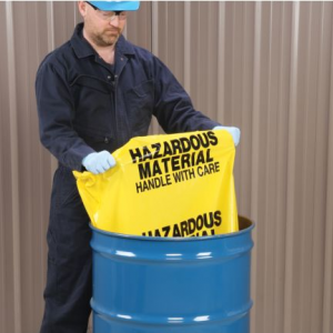Afvalzakken voor gevaarlijke stoffen
