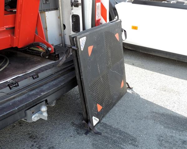CLT hogedruk hefkussen bestelwagen, bestelbus