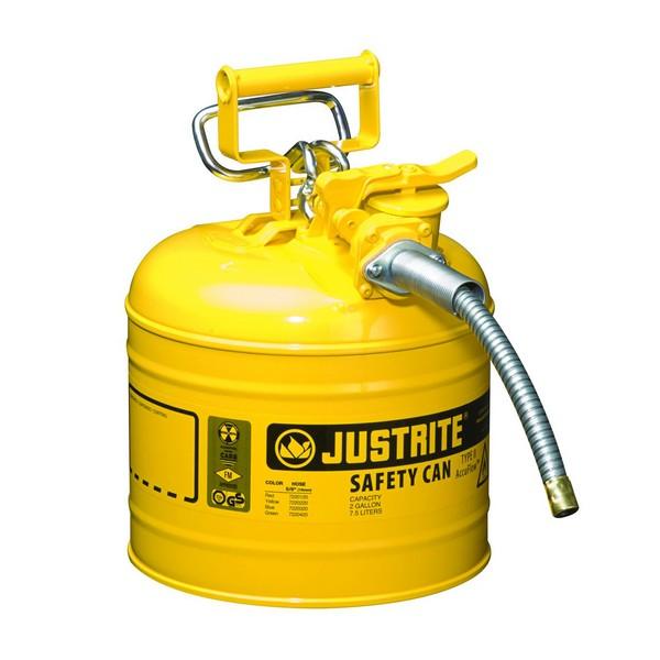 Veiligheidskan 7,5 L geel