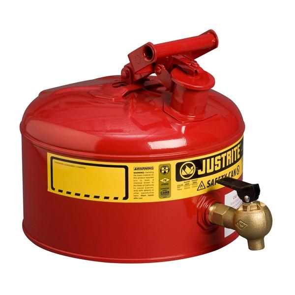 Veiligheidsdoseerkan 9,5 L. rood