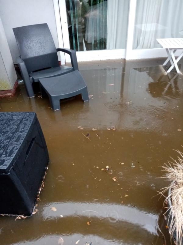 Wateroverlast en schade